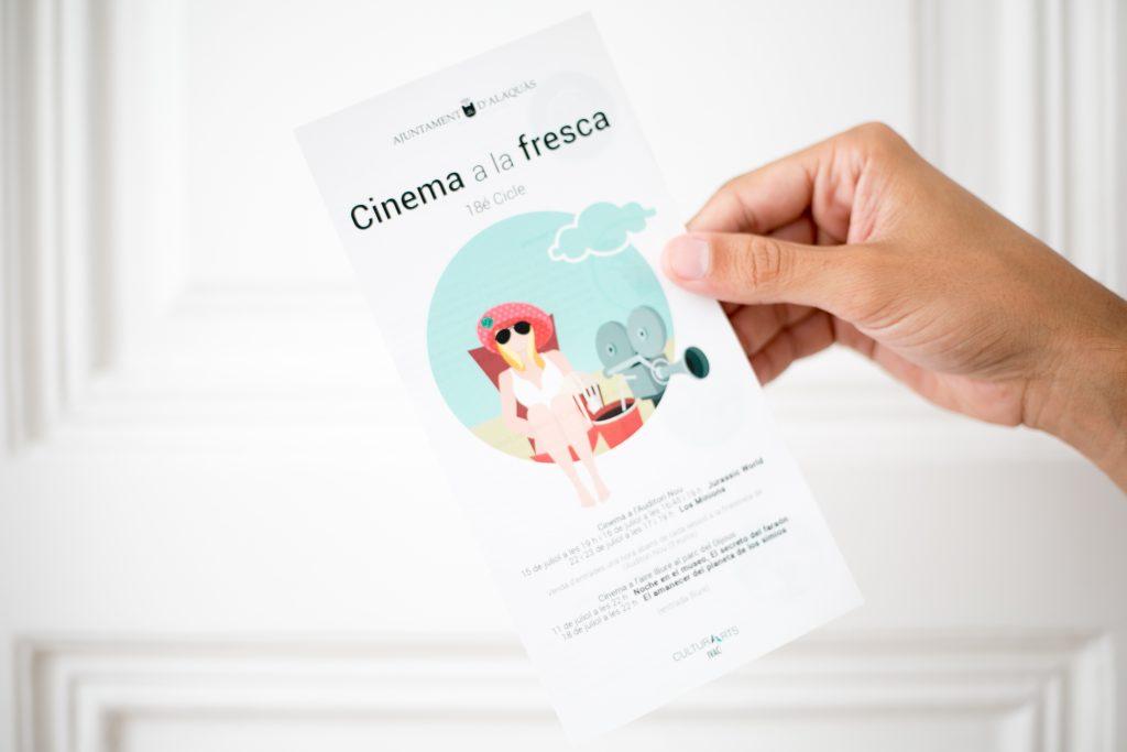 events flyer cinema summer