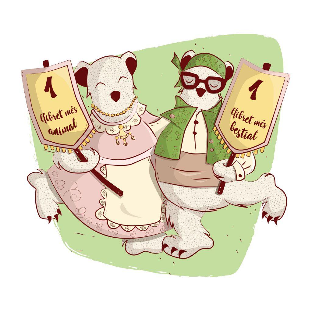 book illustration animals festivals fallas music kids characters