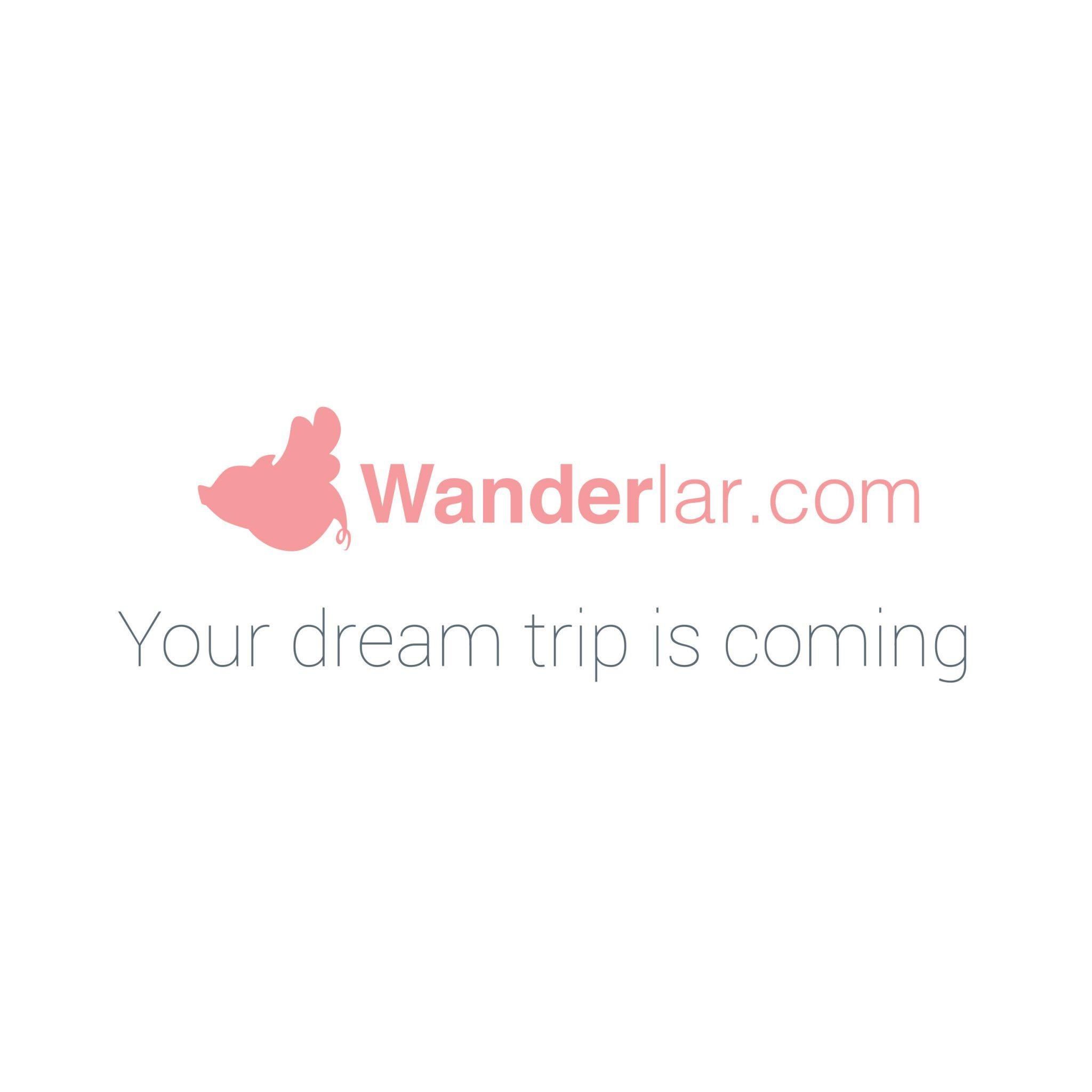 wanderlar branding logo startup fintech